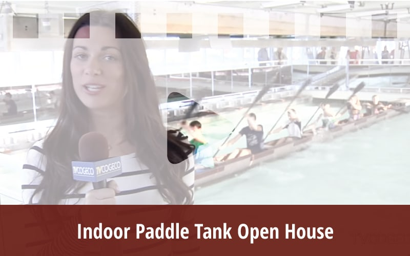 Indoor Paddle Tank Open House